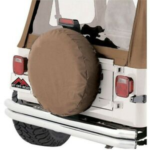 Tc333537 Rt Off Road Spare Tire Cover New For Jeep Cj7 Cj5 Wrangler Willys Cj6