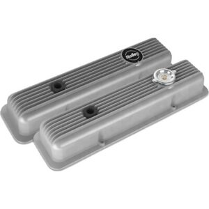 241 134 Holley Set Of 2 Valve Covers New For Olds Suburban Savana Cutlass Pair