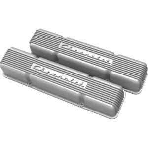 241 106 Holley Valve Covers Set Of 2 New For Chevy Suburban Express Van Pair