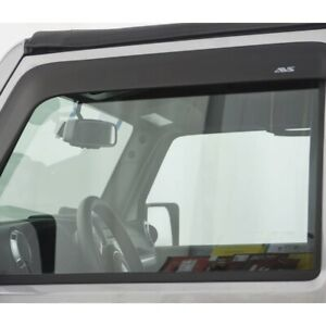 892011 Ventshade Set Of 2 Window Visors Front Driver Passenger Side New Pair