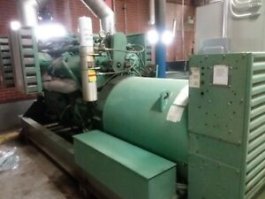 1000kw 1100kw Diesel Generator Load Test Detroit 16v149t Still Under Power