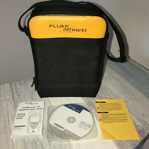 Fluke Linkrunner At 2000 Network Connectivity Tester Case Cd Rom Manual Only