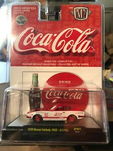 1/64 M2 COCA-COLA 1970 NISSAN FAIRLADY Z432 240Z RED AND WHITE CHASE CAR
