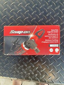 Snap On Tools Heavy Duty 1 Hp Right Angle Die Grinder Ptgr410hv New