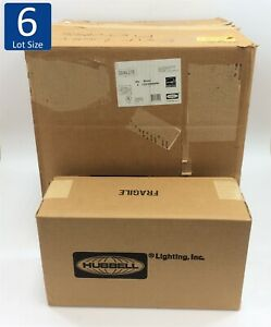 New In Sealed Box Hubbell Emergency Light Led Exit Sign Led1 em rww