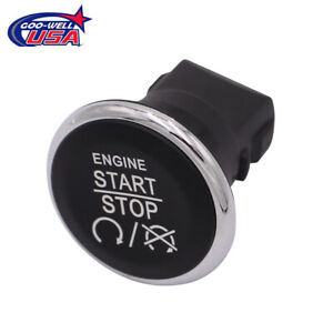 Keyless Push Button Engine Start Stop Switch For 2009 2013 Jeep Grand Cherokee
