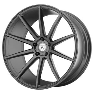 4 asanti Abl 20 Aries 22x9 5x112 32mm Gunmetal Wheels Rims 22 Inch