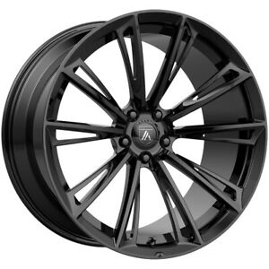 4 asanti Abl30 Corona 20x9 5x120 35mm Gloss Black Wheels Rims 20 Inch