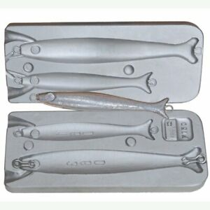 Fishing Sinker lure big lead Mold 160 and 360 g Aluminium Molds Tackle Pilker $62.00