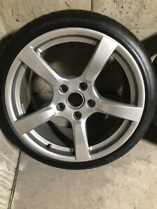 Full Set Of Porsche 19 Inch Rim Size Of 235 35 Zr19 Silver Wheels For Porsche