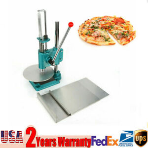Stainless Steel Manual Pastry Sheeting Pizza Dough Bread Molder Press Machine