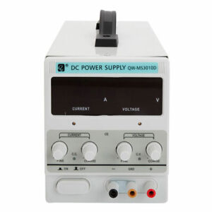 30v 10a Adjustable Variable Digital Dc Regulated Power Supply Lab Grade With Cab