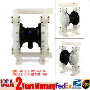 1 5 Industrial Air Operated Double Diaphragm Pump 32 5gpm Wide Flow And Safety