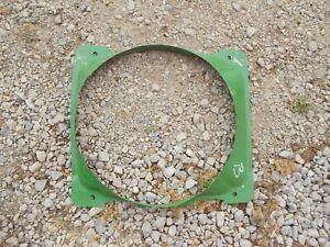 John Deere B Tractor Engine Motor Radiator Assembly Fan Shroud Cover Guard Jd