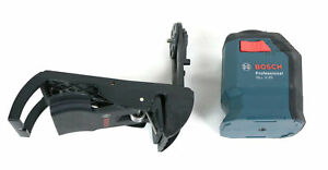 Bosch 360 degree Self leveling Cross line Laser Gll 2 20 With Mount Read