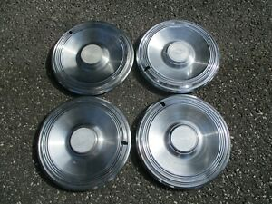 Factory Original 1973 Chevy Impala 15 Inch Hubcaps Wheel Covers