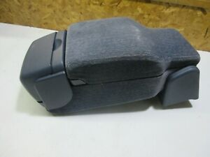 Buick Lesabre Blue Front Center Console Armrest Lid With Cup Holder 2000 2005