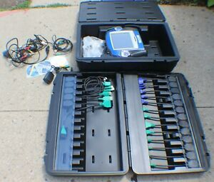 Otc Pegisys Vci Scan Tool Automotive Scope Scanner With Many Cable Connectors