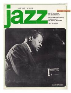 JAZZ Magazine 1965 Oscar Peterson Charlie Parker Jazz Clarinet rare VERY GOOD