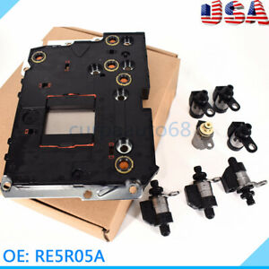 Transmission Control Unit Module Tcm Tcu Fits Nissan Xterra Re5r05a Valve Body