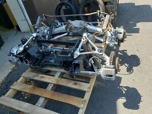 84 85 Corvette C4 Front And Rear Suspension Set With Subframe Pair L98 Dana 36