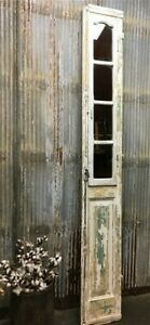 Antique French Mirrored Door Architectural Salvage Mirrored Wall Panel E