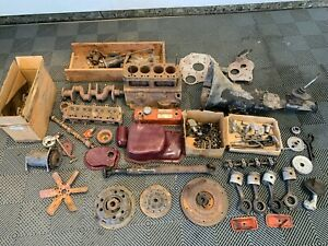 1960 Mga 1600cc Engine And 4 Speed Gearbox And Driveshaft Ready For Rebuild