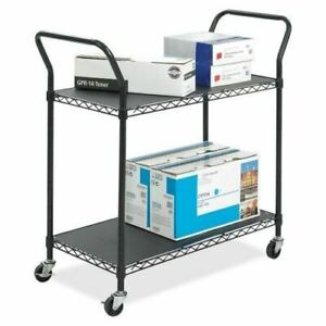 Safco Wire Utility Cart 5337bl