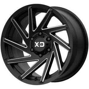 4 Xd Series Xd834 Cyclone 20x9 8x180 0mm Gunmetal Milled Wheels Rims 20 Inch