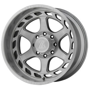 4 asanti Off Road Ab816 Anvil 22x10 6x5 5 18mm Brushed Wheels Rims 22 Inch