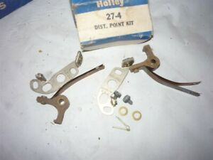 1942 1948 Ford Mercury Dual Point Ignition Set Usa Made Holley Brand