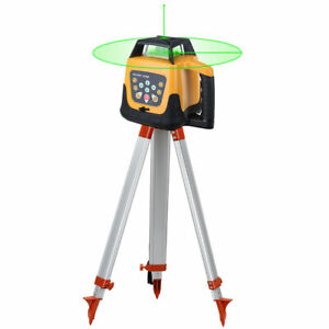 Automatic Self Levelling Rotating Green Laser Level Rotary Tripod Staff Samger