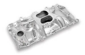 Weiand Street Warrior Intake Manifold Oval Port For Chevy Big Block V8
