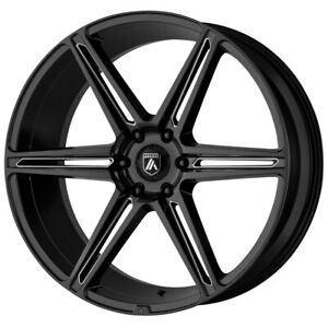 4 asanti Abl 25 Alpha 6 22x10 6x135 30mm Black milled Wheels Rims 22 Inch