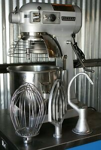 Hobart A200 20 Qt Quart Mixer Bakery All Purpose Planetary Mixer 120 Countertop