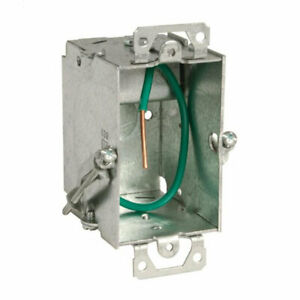 Raco Stab it Metal Switch Electrical Box 3 X 2 X 2 1 2 In 20 pack