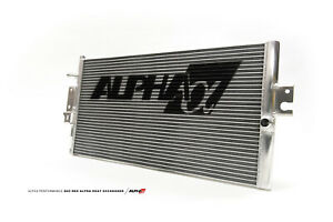 Ams Alpha Performance Red Heat Exchanger Intercooler For Infiniti Q60 Q50