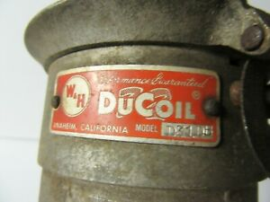 Vintage Distributor Ducoil D31db Parts Or Repair Only Chevy Gasser Rat Hot Rod