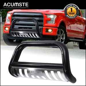 Black Bull Bar Push Bumper Grille Guard For 2004 20 Ford F150 03 17 Expedition
