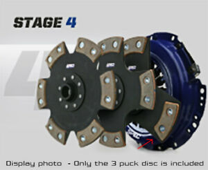 Spec Stage 4 3 puck Clutch Kit For 83 84 Ford Ranger 2 2l Diesel Sf254 3p