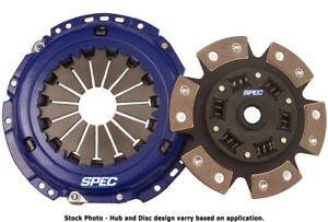 Spec Stage 3 6 puck Clutch Kit For 83 84 Ford Ranger 2 2l Diesel Sf253 6p