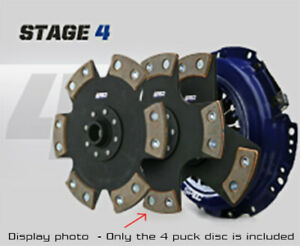 Spec Stage 4 4 puck Clutch Kit For 83 84 Ford Ranger 2 2l Diesel Sf254 4p