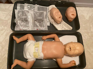 Laerdal Resusci Baby For First Aid Cpr nurses Training Mannequin With Extras