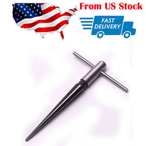 T Handle Tapered Hand Held Reamer Hole Pipe Chaser Reaming Tool 1 8 To 1 2