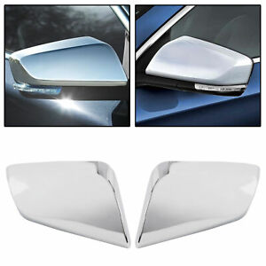 For 2014 2020 Chevy Impala Chrome Triple Mirror Covers Overlays Trims