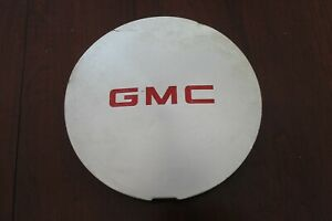 1995 2001 Gmc Jimmy Sonoma Machined 7 Center Cap W Red Logo 15661131 Used Oem