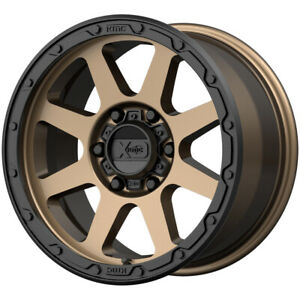 4 xd Series Xd134 Addict 2 17x9 8x6 5 18mm Bronze black Wheels Rims 17 Inch