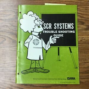 Clark Scr Systems Troubleshooting Service Repair Manual Electric Fork Lift Truck