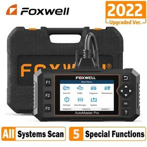 Foxwell Nt624 Elite Auto Obd2 Scanner All System Diagnostic Tool Oil Epb Reset