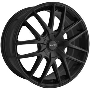 4 Touren Tr60 17x7 5 5x5 42mm Matte Black Wheels Rims 17 Inch